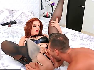 Look At her now - Ginger GMILF Andi James likes it dirty and rough