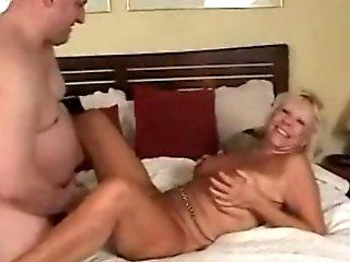 Granny Riding Big Dick