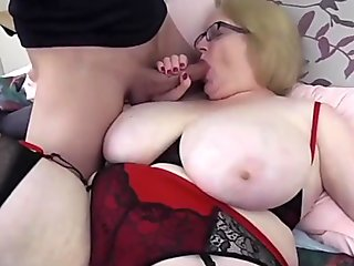 Big tits Sally first time fucked teaser