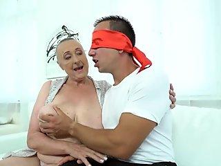 Older ladies mouth jizzed